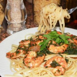 linguini alla scampi