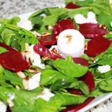 beetroot and goat cheese salad