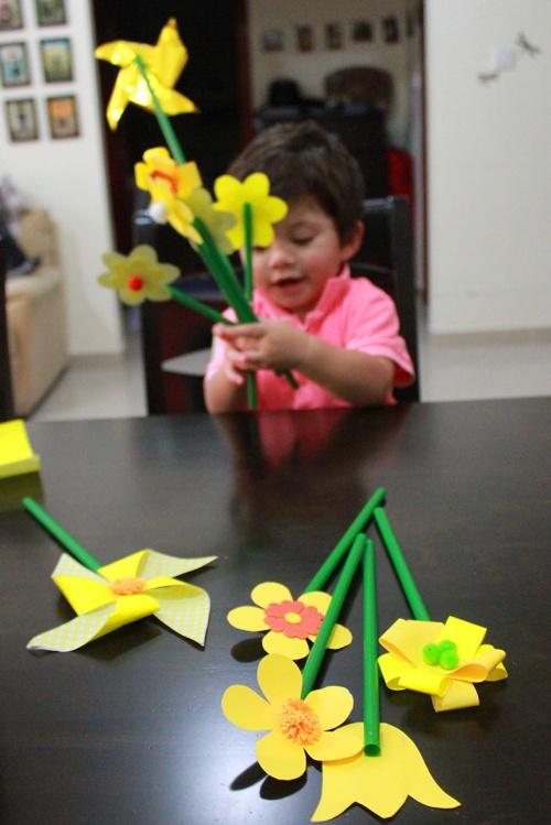 spring flowers DIY 4