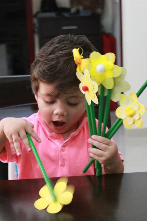 spring flowers DIY 5