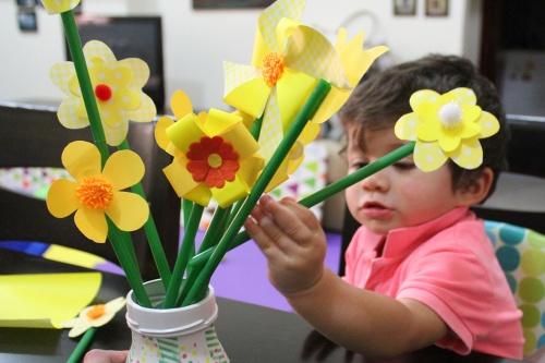 spring flowers DIY 7