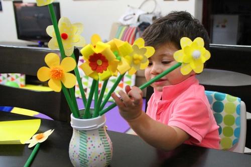 spring flowers DIY 8