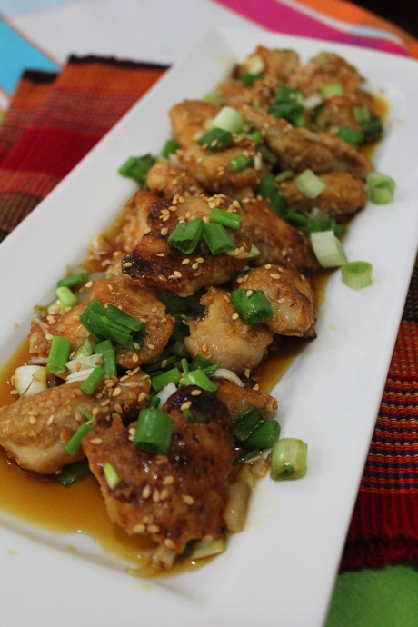 orange sesame chicken