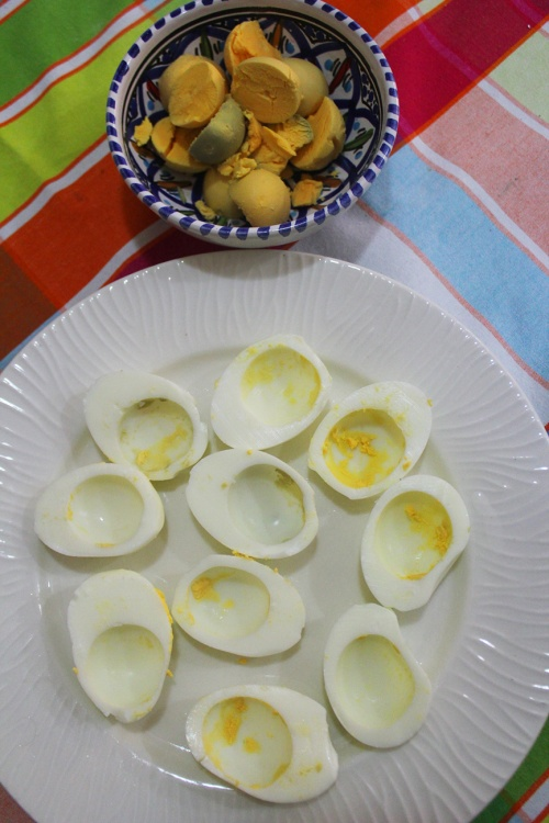 deviled eggs a la libanaise