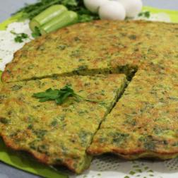 zucchini omelette