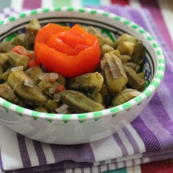 okra dish