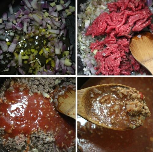 spaghetti bolognese tutorial