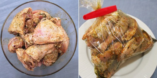 scrumptious oven roasted chicken with herbs and citrus
