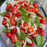 tomates cerises salad