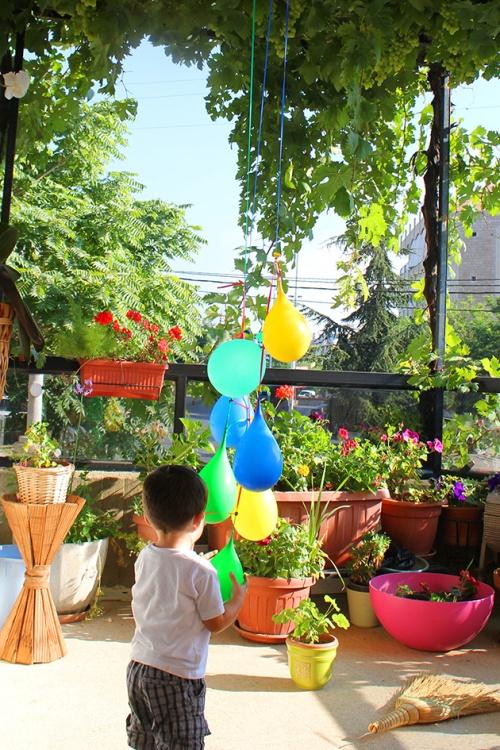 water balloons pinata