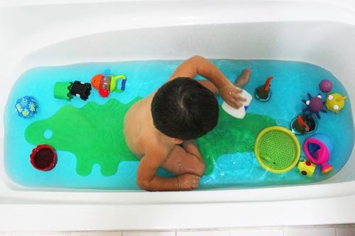sea in the bath