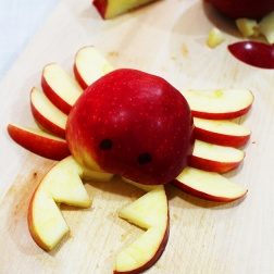 DIY crab apple snack for kids