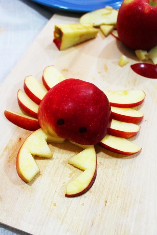 DIY crab apple snack for kids