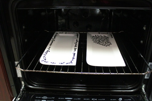 sharpie plates