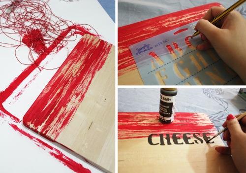 DIY - cheese board