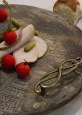 DIY vintage charcuterie board
