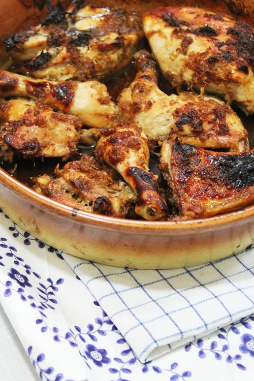 honey - soy glazed chicken
