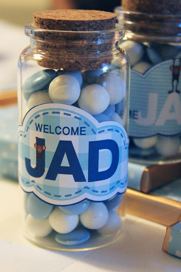 Soft as a cloud personalized baby welcoming decorations for Baby welcome decoration ideas