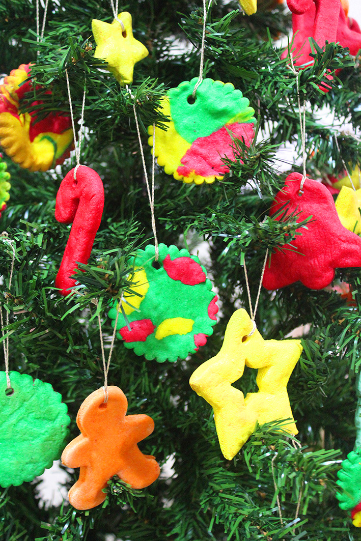 Handmade christmas tree ornaments crafts for tiny hands