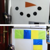 fridge snowman how to do