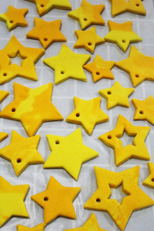 handmade star ornament 2