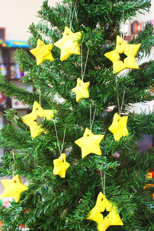 handmade star ornament 3