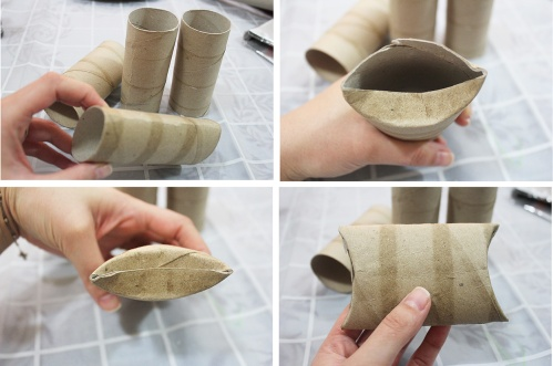how to do toilet paper roll gift box