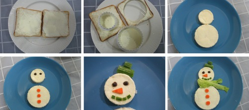 how to do snowman breakfast