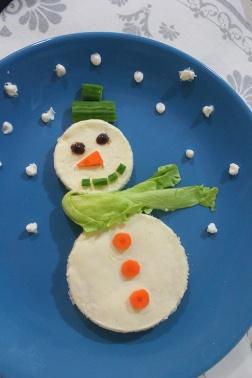 snowman-breakfast