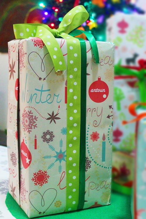 antoun personalized wrapping paper