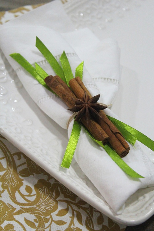 cinnamon& star anise napking ring