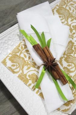 cinnamon&star anise napking ring
