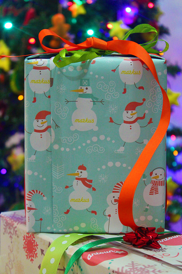 Fun Camping Wrapping Paper And Creative Gift Wrap Ideas