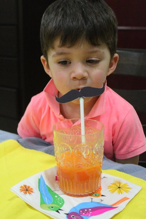 carrot.banana.mandarin smoothie