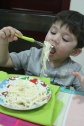 cheese bechamel spaghetti kids recipe