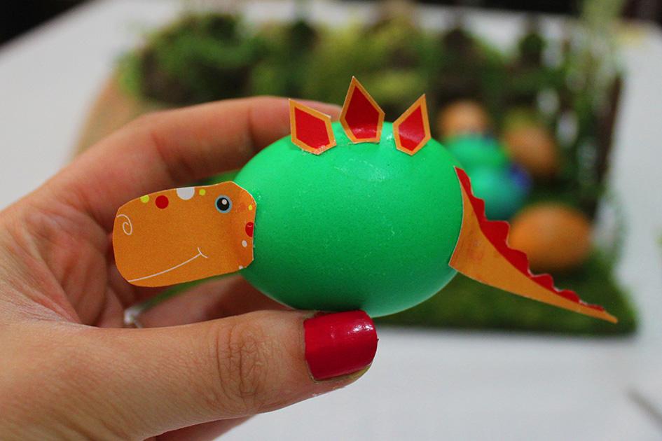 Creative Easter eggs decoration -Dinosaurs land- DIY ...