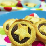 star chocolate tart
