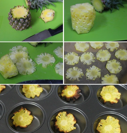 pineapple flower DIY