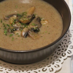 mushroom soup