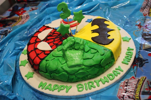 super hero cake tutorial