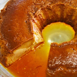creme caramel