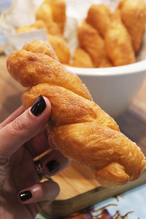 zlebyeh - fried dough