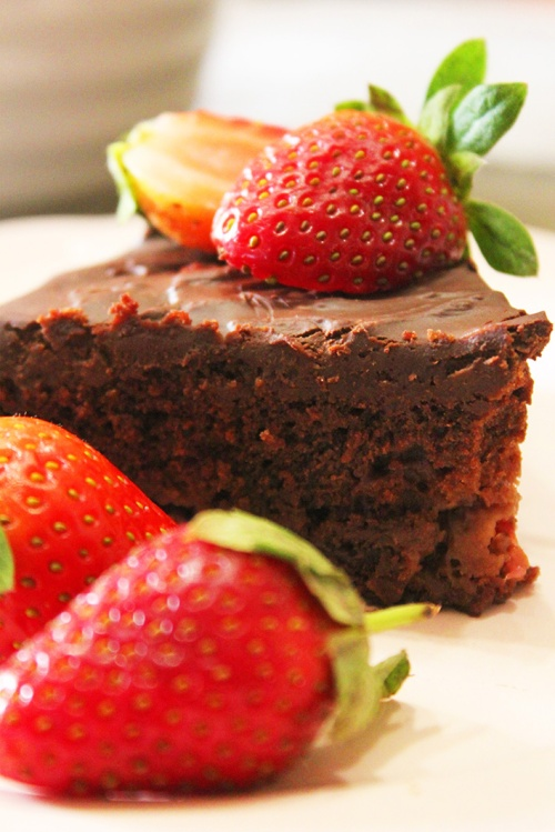 chocolate strawberry cake 6