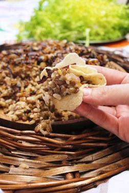 mdardara (vegan lentil and rice pilaf)|marmite et ponpon