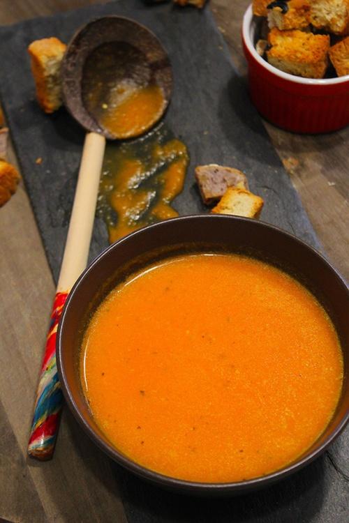 roast pumpkin soup
