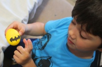3 superheroes Easter eggs| marmite et ponpon