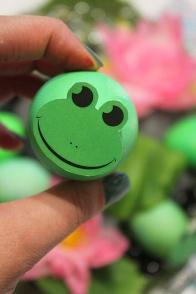 4 Frogs Easter eggs  marmite et ponpon
