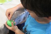 4 superheroes Easter eggs| marmite et ponpon