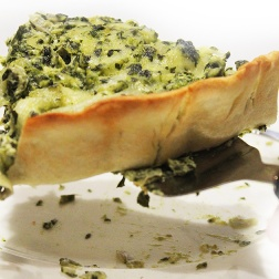 artichoke spinach quiche | marmite et ponpon