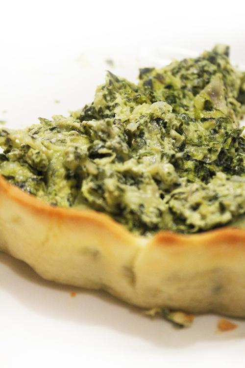 artichoke spinach quiche|marmite et ponpon